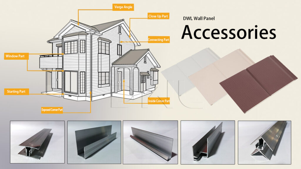 DWL Wall Panel Accessories Usage Method