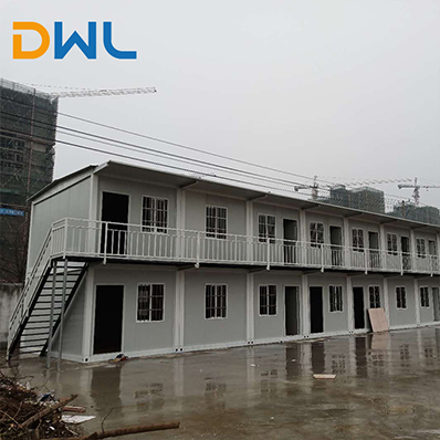 low cost prefab container house