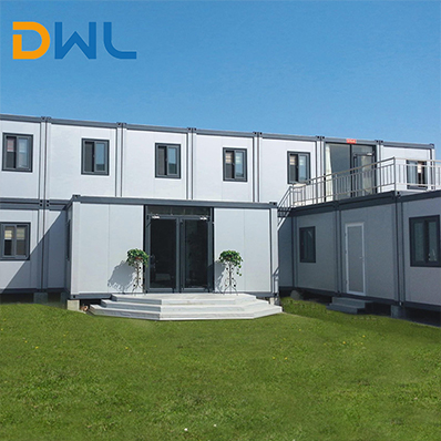 prefabricated full insulated office container