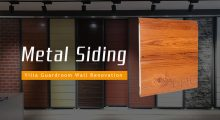 applications for metal siding