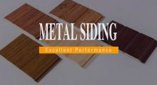 Excellent Performance of Metal Siding